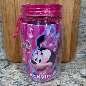 """Plastic """"Minnie"""" Activity Jar"""
